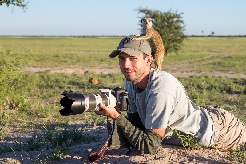 meerkat-and-photographer