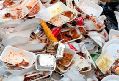 plasticware-and-food-waste